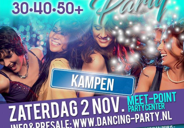 30 40 50 plussers: Dancing Party Kampen