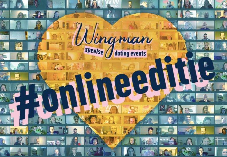 WINGMAN dating #onlineeditie (25 t/m 39 jaar)