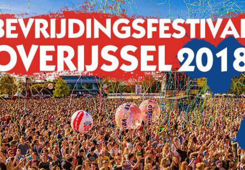 Bevrijdingsfestival Overijssel 2018