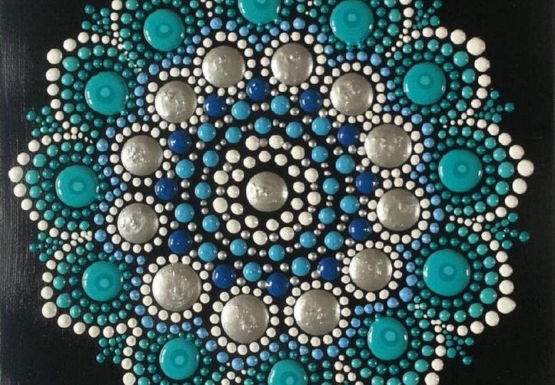 Mandala's schilderen