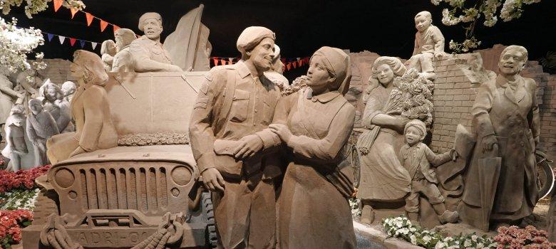 Thema 75 jaar Bevrijding voor 't Veluws Zandsculpturenfestijn blijft gehandhaafd