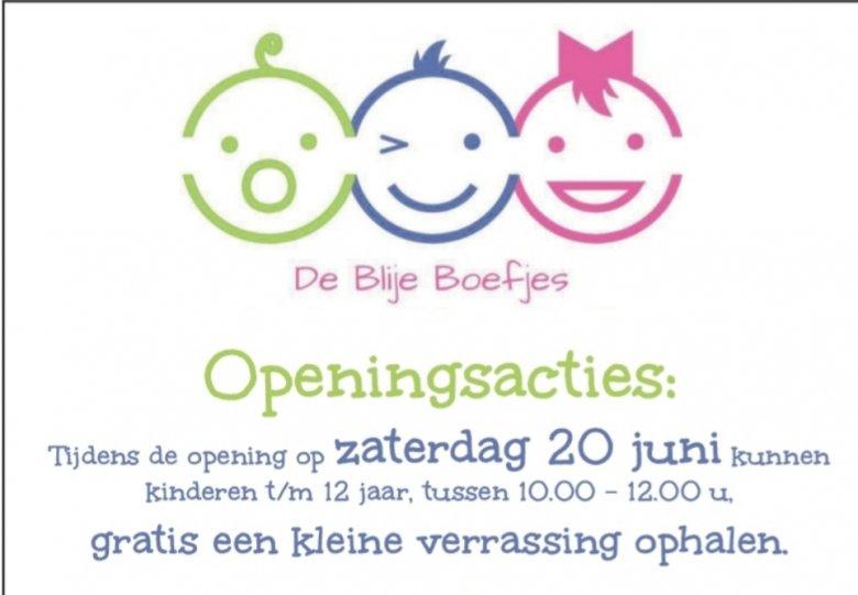 Opening Kinderstudio De Blije Boefjes