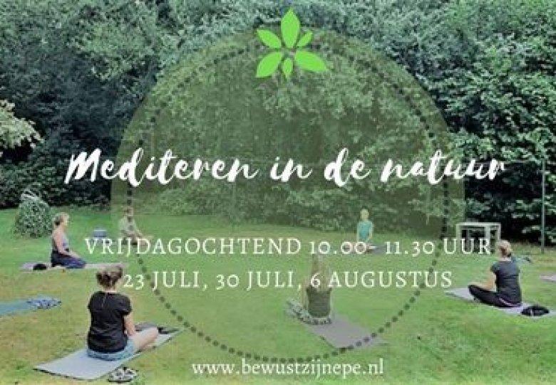 Samen mediteren in de natuur