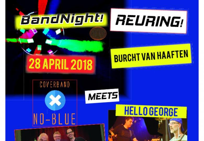 Reuring! met No Blue en Hello George