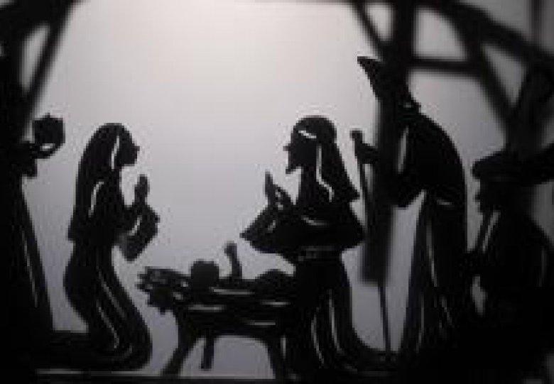 Het Kerstverhaal in schimmenspel - Poppentheater Cassiopeia