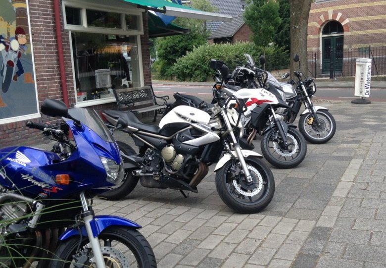 Motortoertocht Watertorens Midden-Nederland