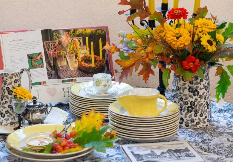 Tableware & Flowers op De Boschhoeve