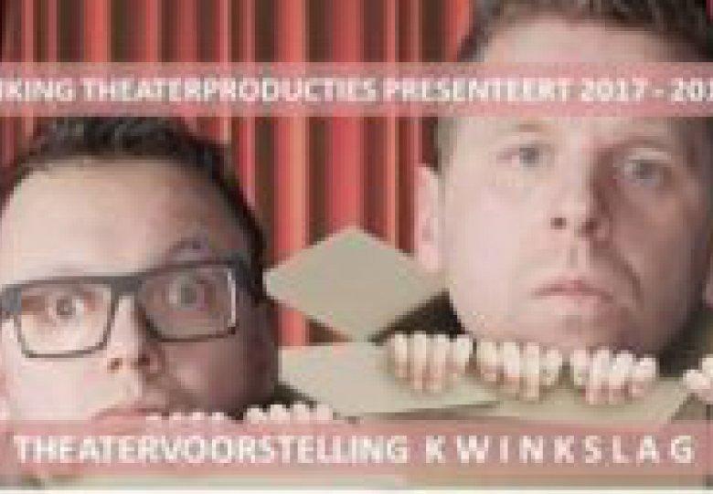 THEATERVOORSTELLING KWINKSLAG VAN JOOST & MARTIJN