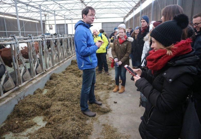 Rondleiding op kaasboerderij Van Zeeburg