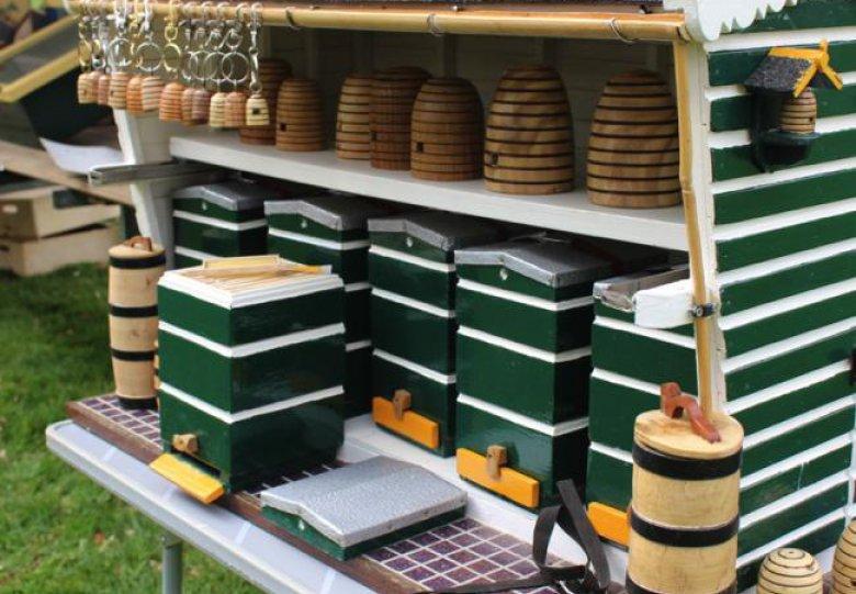 Bijenmarkt met gratis entree