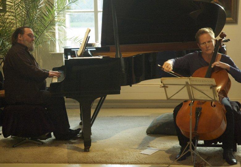 Concert met cello en piano