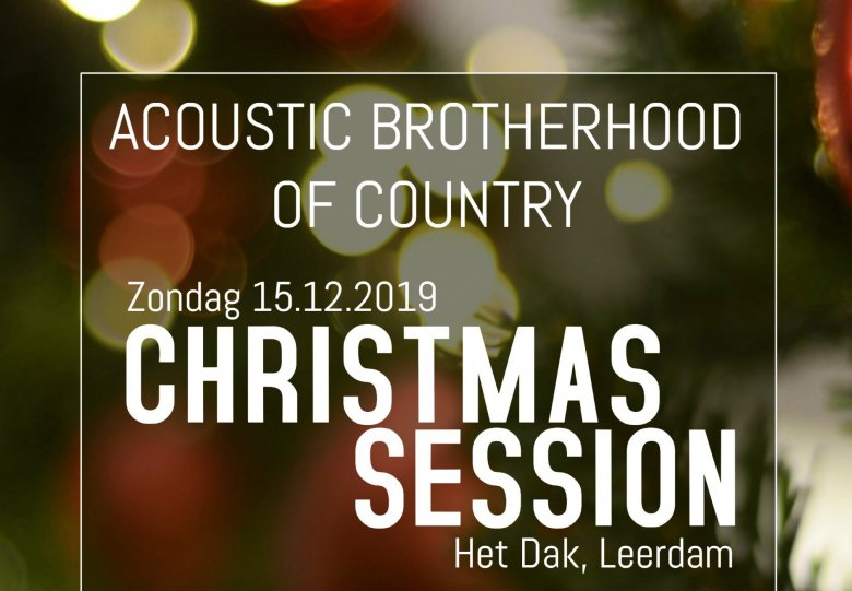 Acoustic Brotherhood of Country | Christmas Session