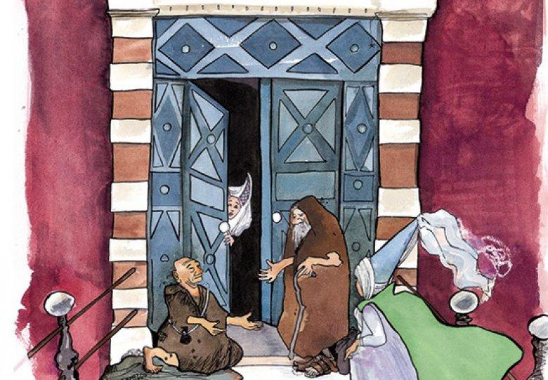 Muzikale sprookjesvoorstelling 'Gruwelijke Rijmen' in kasteel Ammersoyen