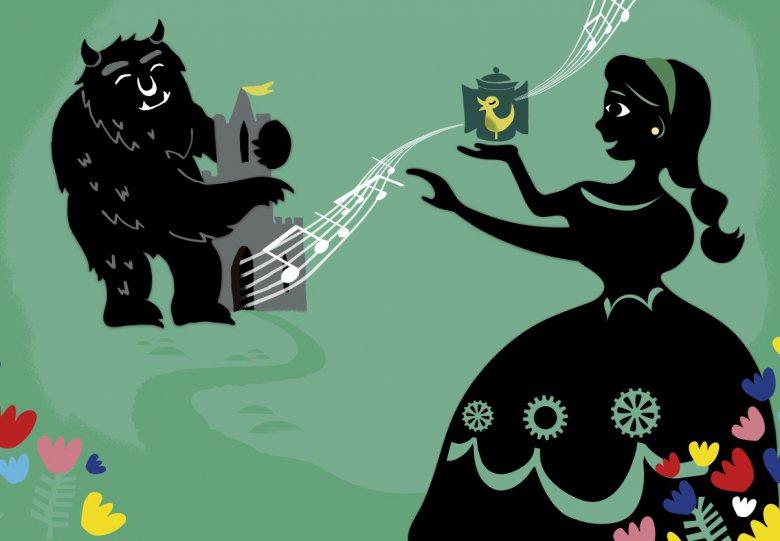 Muzikale sprookjesvoorstelling Belle en het Beest