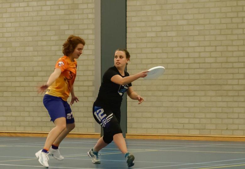 Open damestraining Ultimate frisbee
