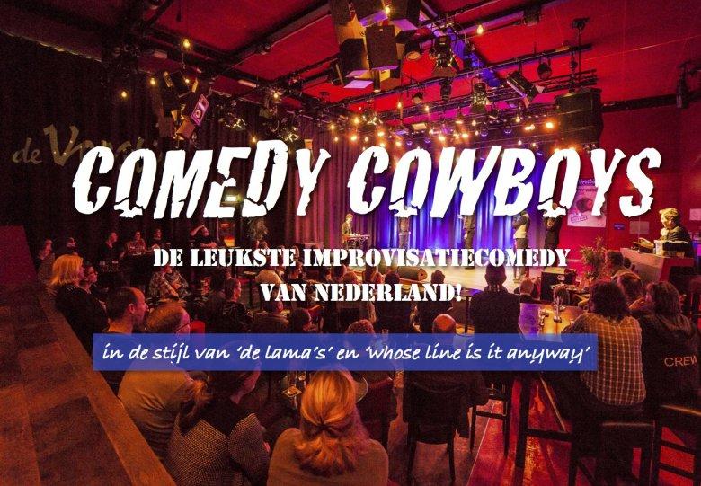 Comedy Cowboys - improvisatiecomedy