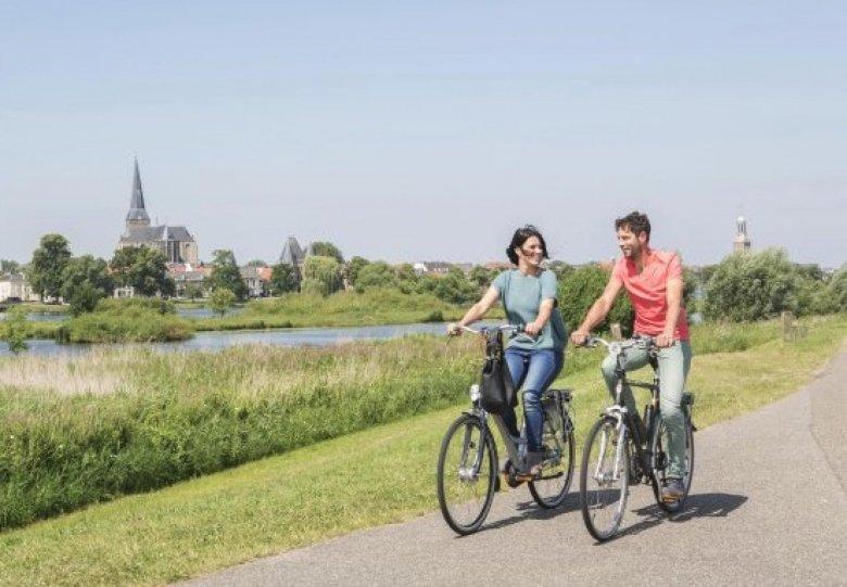 Fietsen en wandelen in de IJsseldelta
