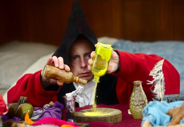Professor Bombasticus: de oude schat, op Kasteel Doorwerth