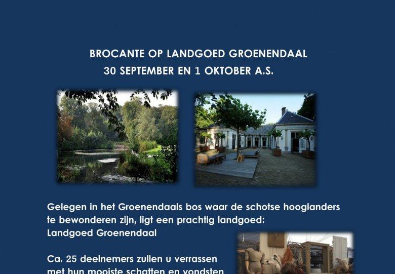 Brocante Fair op Landgoed Groenendaal