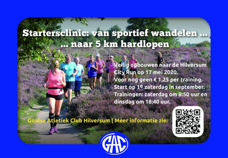 Startersclinic Hardlopen