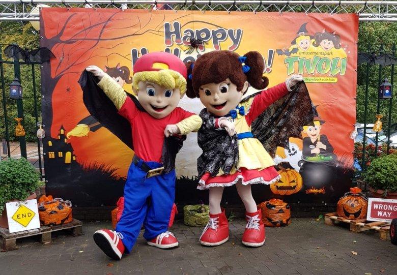 Happy Halloween in Park Tivoli