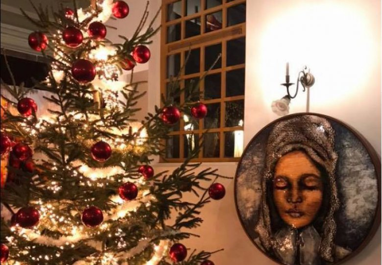 Kerstfair met betaalbare kunst