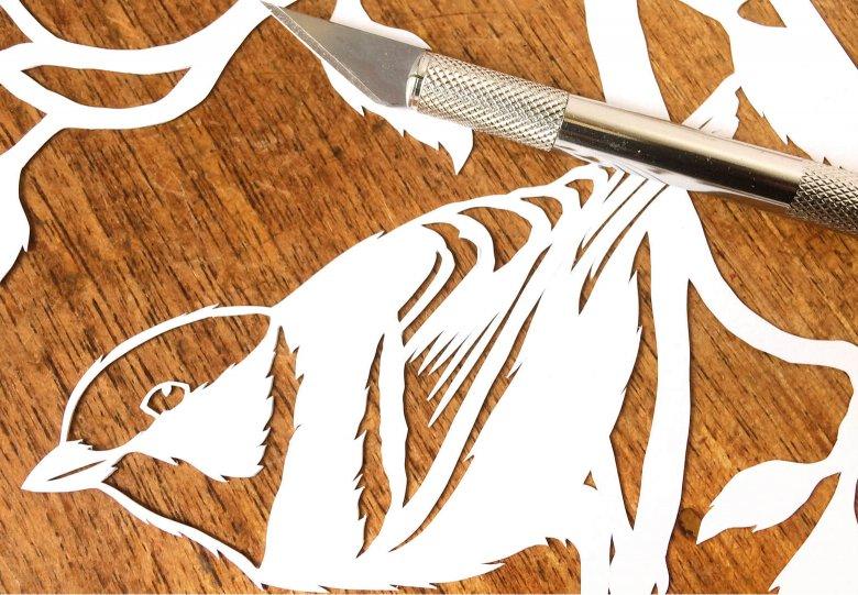 Workshop Papiersnijden