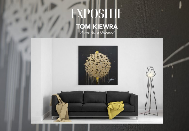EXPOSITIE   TOM KIEWRA · Avventura Urbano