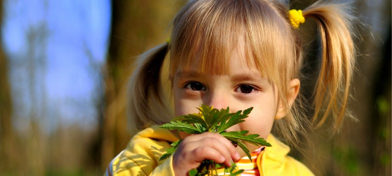 Kinderwandeling, landgoed Mariëndaal
