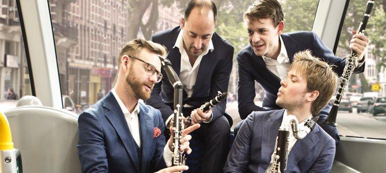 Nieuw Amsterdams Klarinet Kwartet - Ode aan Amsterdam