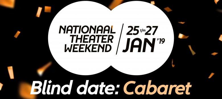 Nationaal Theaterweekend: Cabaretvoorstelling voor een tientje