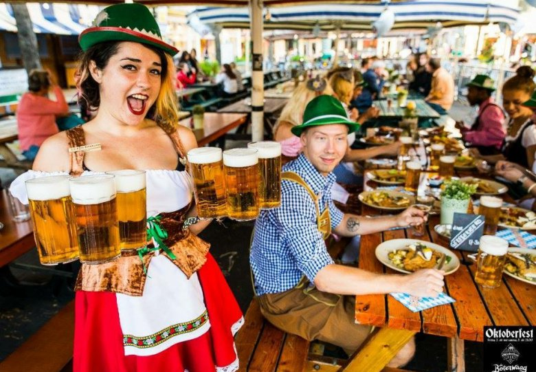 Oktoberfest markt