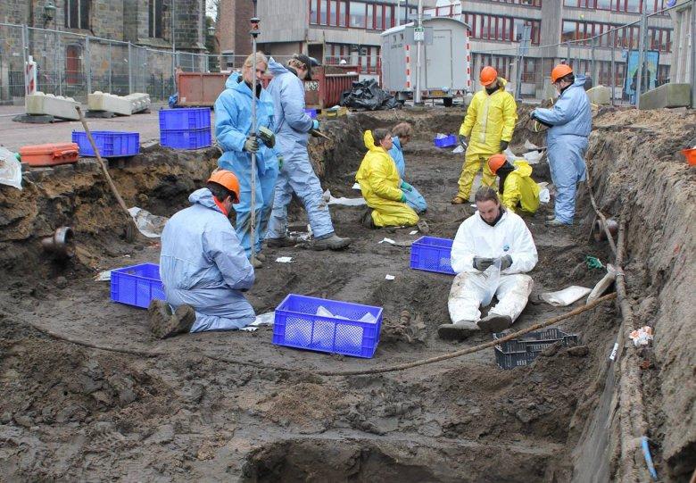 Historische lezing: 'Begraven in de stad'