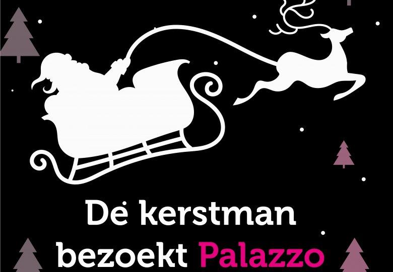 De Kerstman bezoekt Palazzo Lelystad