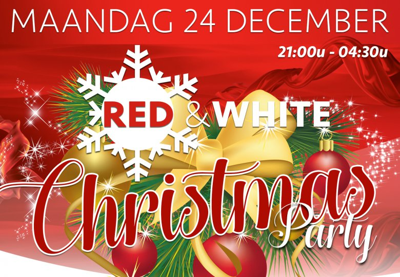 Red White Christmas party
