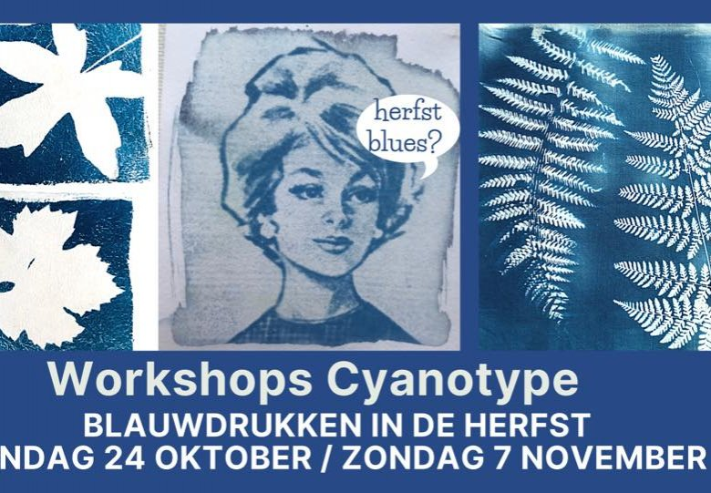 Workshop Cyanotype blauwdrukken