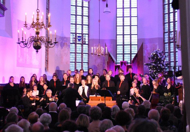 Kerstconcert - Messiah, Koorschool Midden Gelderland en Muidens Ensemble