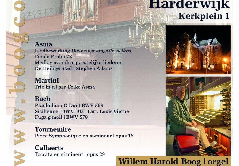 Orgelconcert Grote Kerk Harderwijk