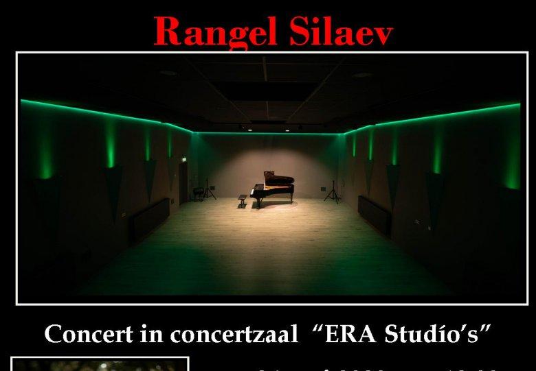 """Concert van pianist Rangel Silaev in """"ERA studio's"""" concertzaal"""
