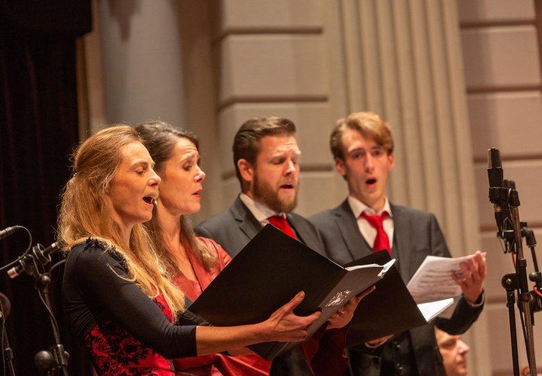 Kerstconcerten met Sacred Singers