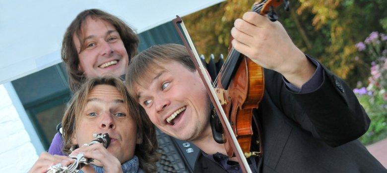 Snertconcert met Trio C tot de Derde