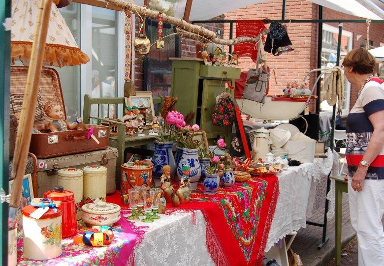 Twentse Brocante Fair in Delde