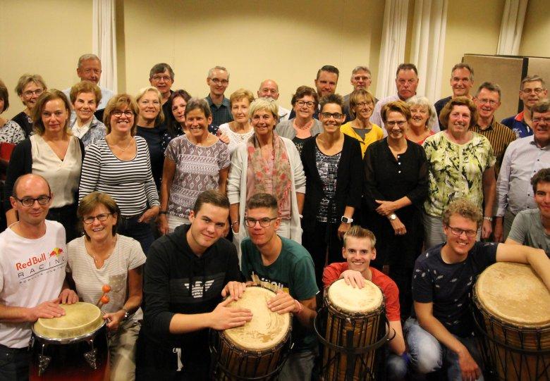 Concert Koor Weerklank en KNAP Percussie