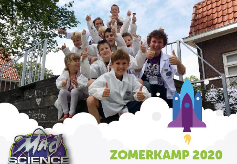 Mad Science Zomerkamp bij Griftsteede in Utrecht