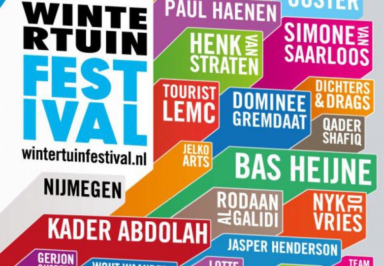 Wintertuinfestival: Festivalavond