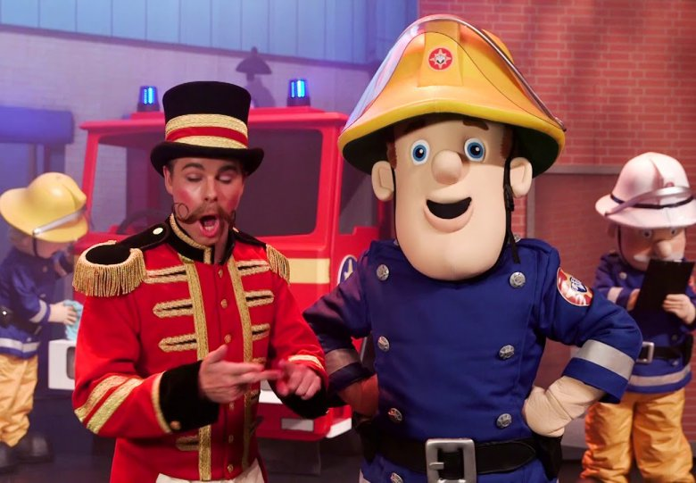 Stadsgehoorzaal: Brandweerman Sam (2+)