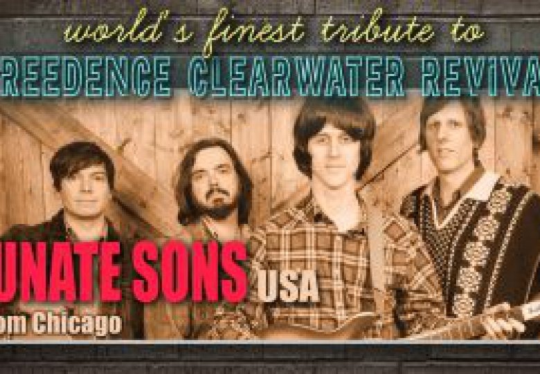 Stadsgehoorzaal: The Fortunate Sons (USA)