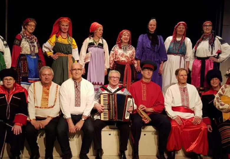 Russisch Karnaval Concert in Torenlaan Theater Zeist