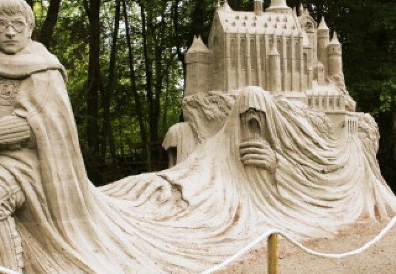 Vanaf 16 juni geopend: Zandsculpturen