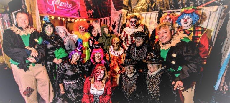 Halloween markt & tocht